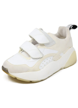 Sneakers Stella McCartney Shoe White Vegan Leather Polyamide Shoes