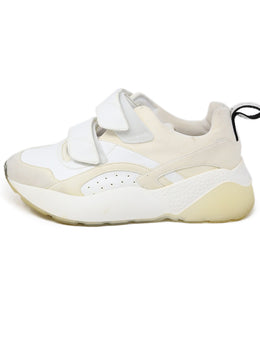 Sneakers Stella McCartney Shoe White Vegan Leather Polyamide Shoes 1