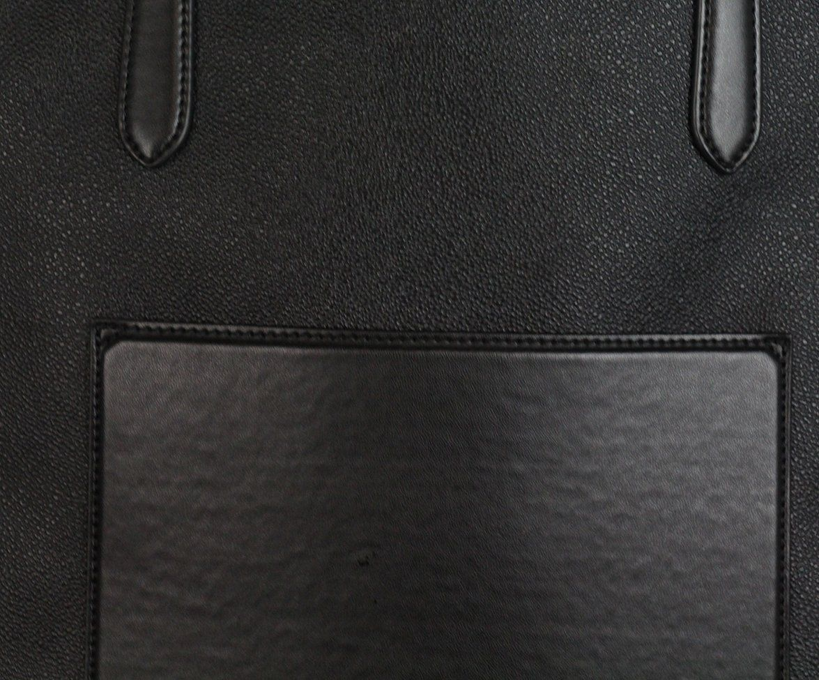 Stella McCartney black vegetarian material tote 8