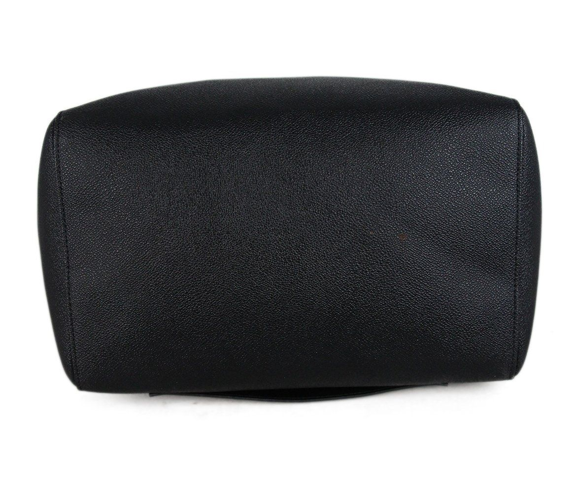 Stella McCartney black vegetarian material tote 4