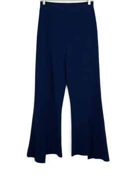 Stella McCartney Navy Rayon Polyester Pants 1