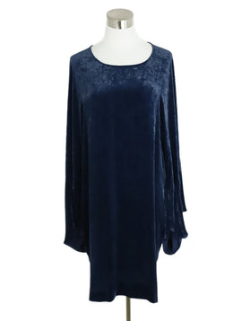 Stella McCartney Blue Velvet Longsleeve Dress 3