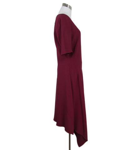 Stella McCartney burgundy dress 1