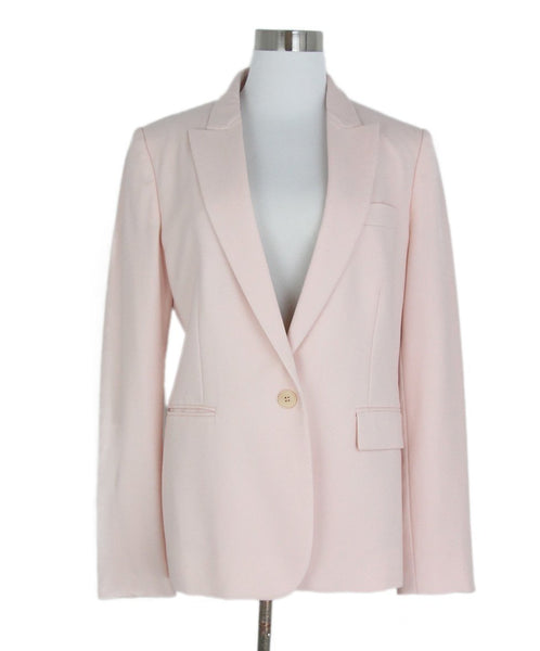 Stella McCartney Pink Wool Jacket 1
