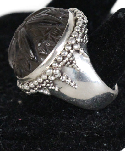 Stephen Dweck Sterling Silver Smokey Quartz Ring 1