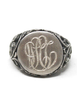 Sterling Silver Insignia Ring
