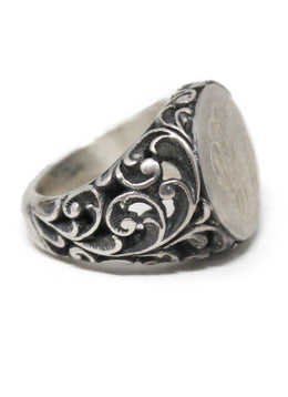 Sterling Silver Insignia Ring 1