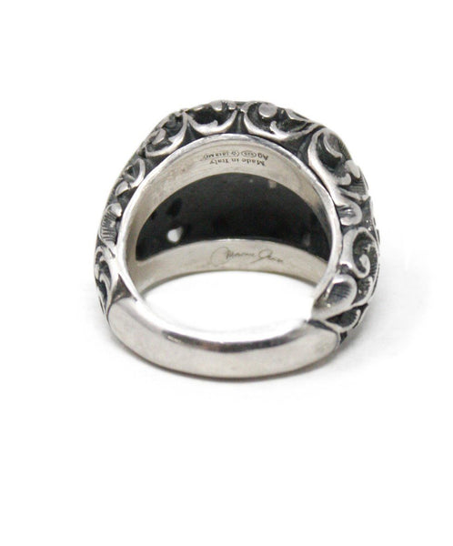 Sterling Silver Insignia Ring 3