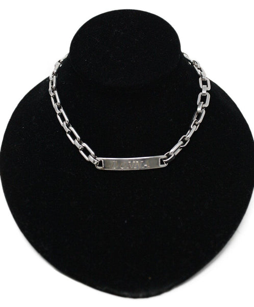 Necklace Choker Sterling Silver Chain Jewelry
