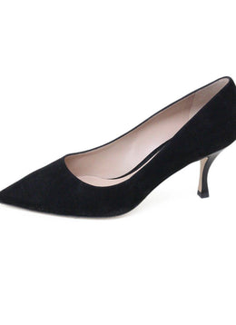 Stuart Weitzman Black Suede Shoes
