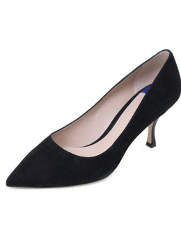 Stuart Weitzman Black Suede Shoes 1