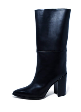 Stuart Weitzman Black Leather Boots 2