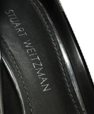 Stuart Weitzman Heels Shoe Size US 8 Black Patent Leather Shoes 6