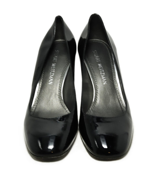 Stuart Weitzman Heels Shoe Size US 8 Black Patent Leather Shoes 5