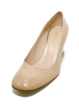 Stuart Weitzman Neutral Nude Patent Leather Heels 1