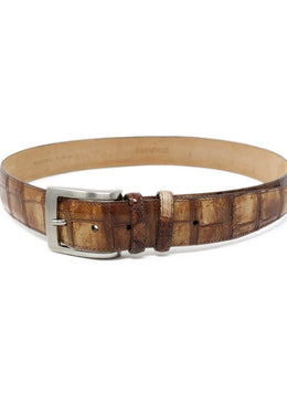 Suarez Brown Crocodile Belt 2