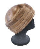 Suzanne brown Mink Fur Hat 2