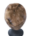 Suzanne brown Mink Fur Hat 3