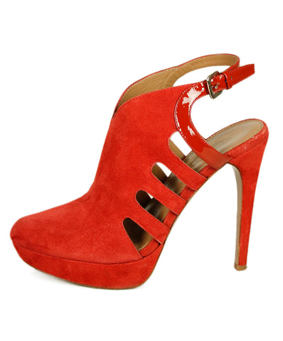 Tahari Red Suede Shoes 1