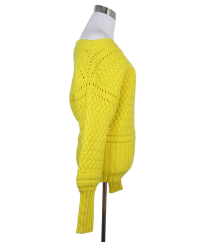 Tanya Taylor Yellow Wool Sweater 1