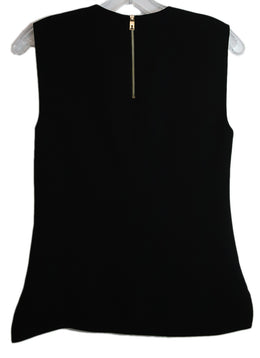 Ted Baker Black Polyester Sleeveless V-Neck Top 2