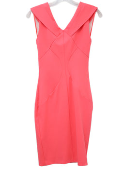 Ted Baker Neon Pink Polyester Dress
