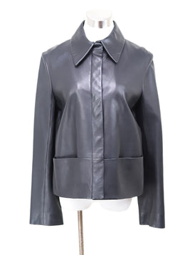 The Row Black Lambskin Jacket