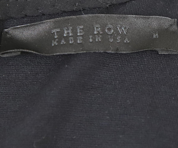 The Row Black Nylon Elastic Top Sz 6