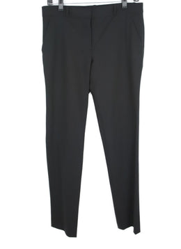 The Row Black Wool Trousers 1