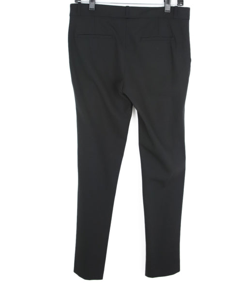 The Row Black Wool Trousers 2
