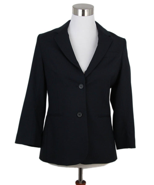 The Row Blue Navy Jacket 1