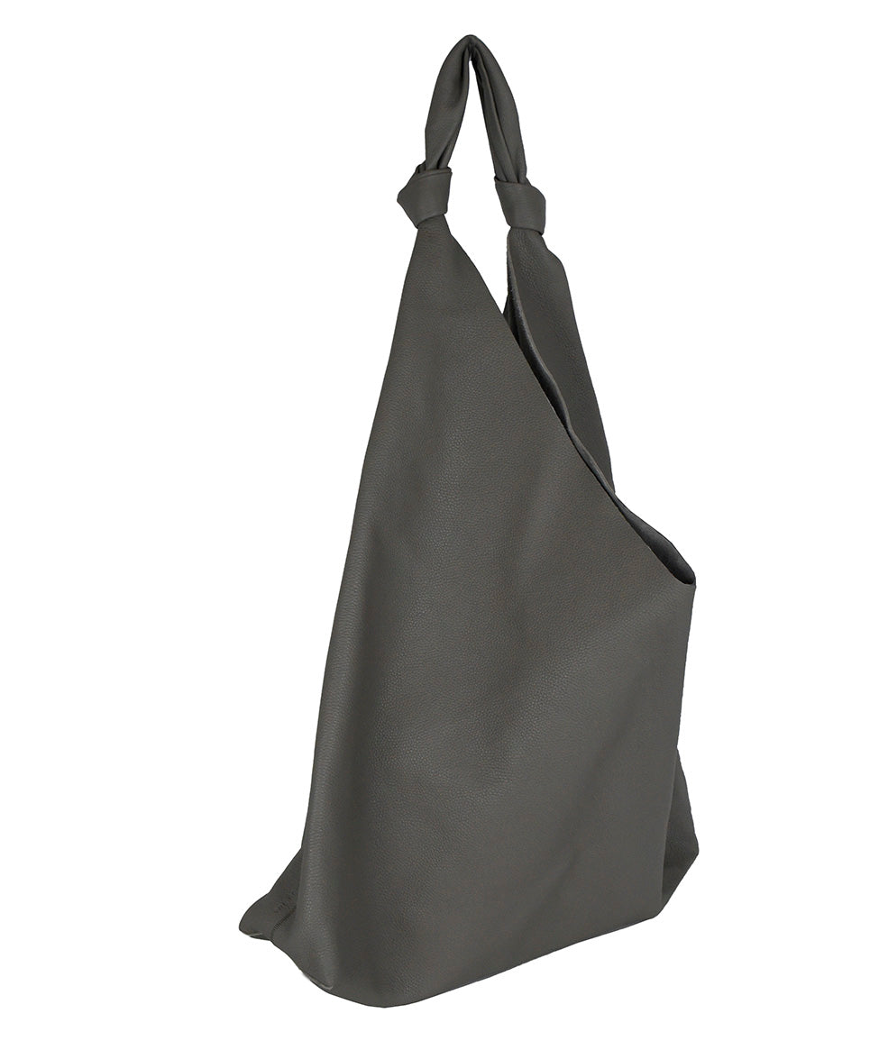 The Row Grey Leather Grey Bindle Two Tote Handbag 2