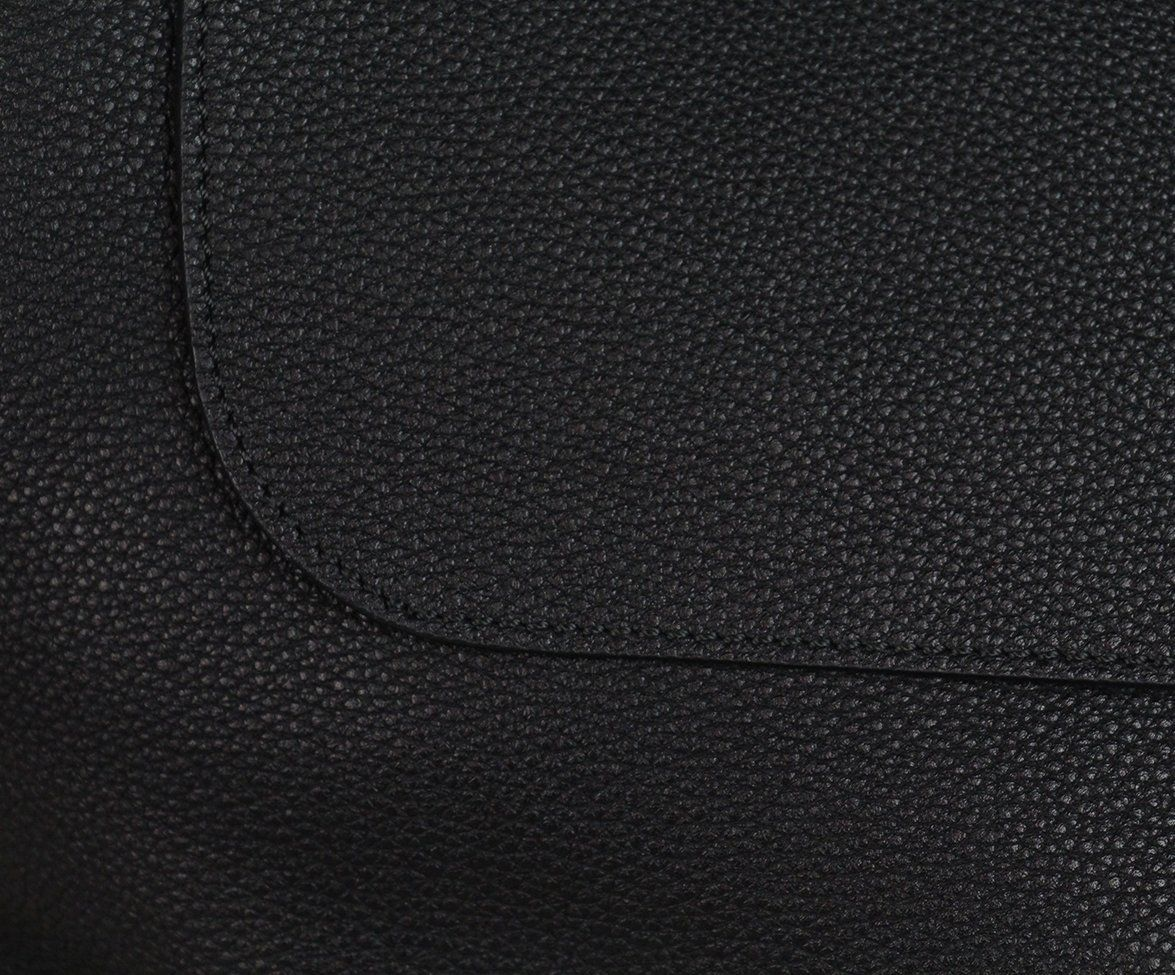 The Row black leather shoulder bag 8