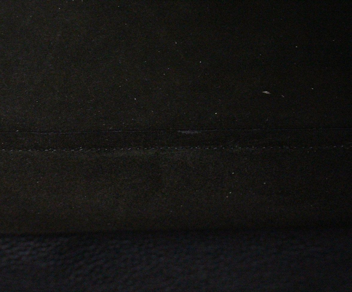 The Row black leather shoulder bag 4