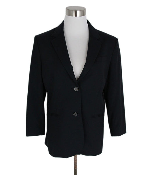 The Row Black Wool Jacket 1