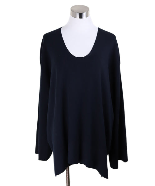 The Row Navy Sweater