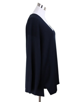 The Row Navy Sweater 1