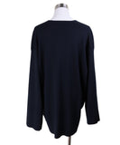 The Row Navy Sweater 2