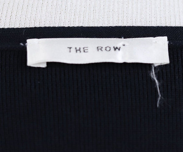 The Row Navy Sweater 3