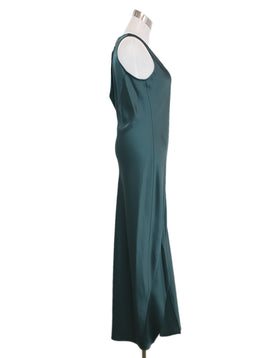 Theory Green Silk Dress 2