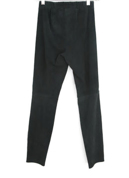 Theory Charcoal Suede Pants 2