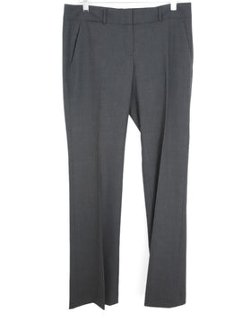 Theory Grey Wool Pants 1