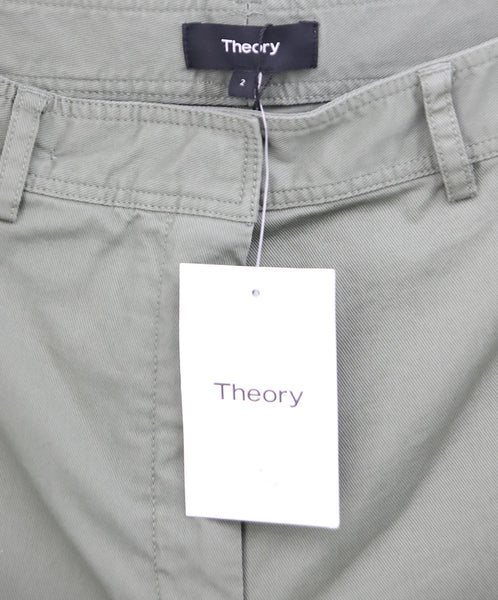 Theory Olive Green Pants 3