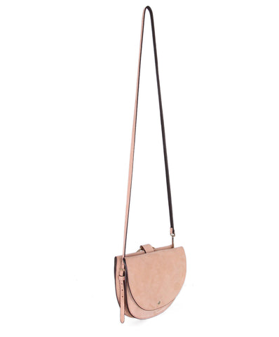 Theory Peach Suede Crossbody 1
