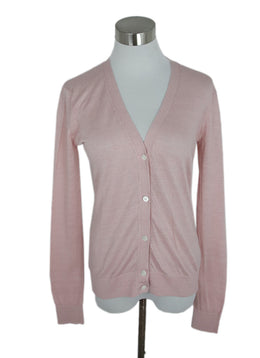 Theory Pink Viscose Nylon Sweater 1