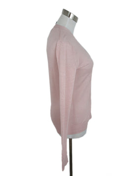 Theory Pink Viscose Nylon Sweater 2