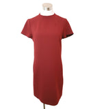 Theory Burgundy Viscose Dress 1