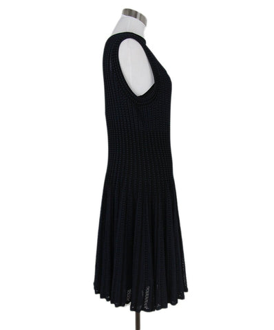 Theory black navy dress 1