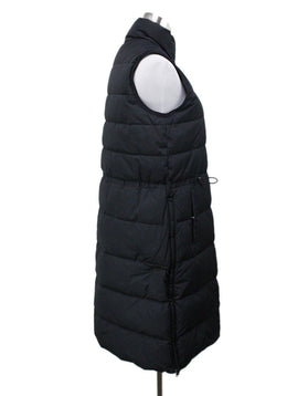 Theory Black Polyester Down Vest Sz 4