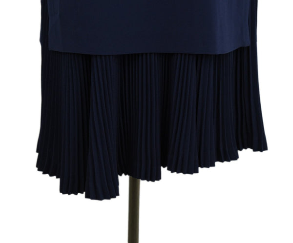 Theory Blue Navy Triacetate Polyester Dress Sz. 6